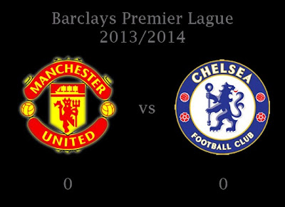 Man United vs Chelsea August 2013