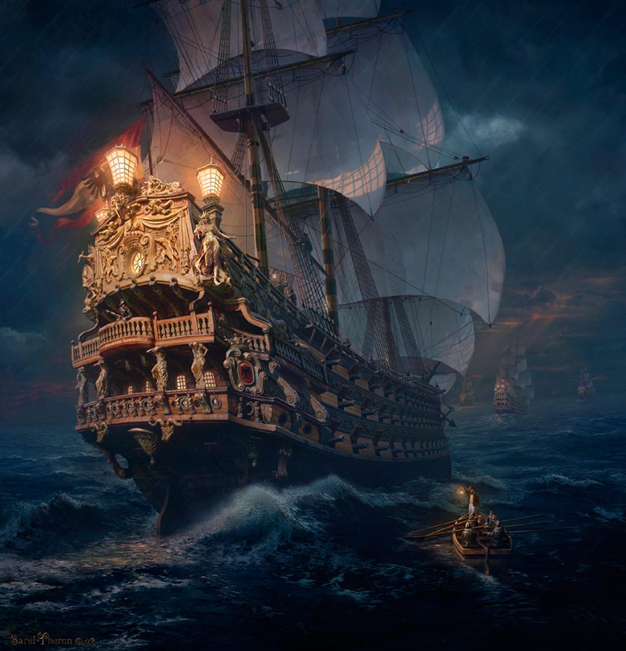 Pirates of the burning sea concept art - photo#9