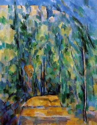 Revolt al camí del bosc (Paul Cezanne)