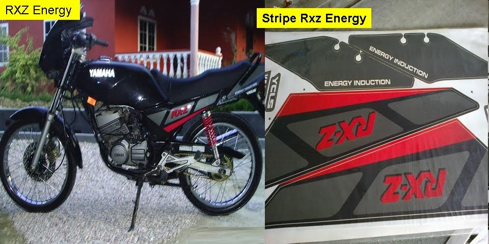 Yamaha Rxz Cover Set