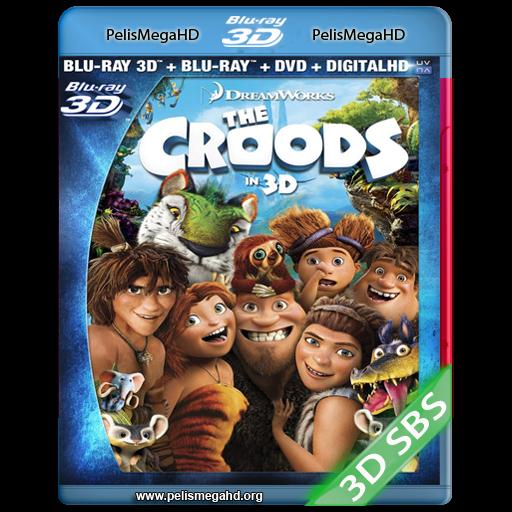 LOS CROODS: UNA AVENTURA PREHISTORICA (2013) 3D SBS 1080P HD MKV ESPAÑOL LATINO