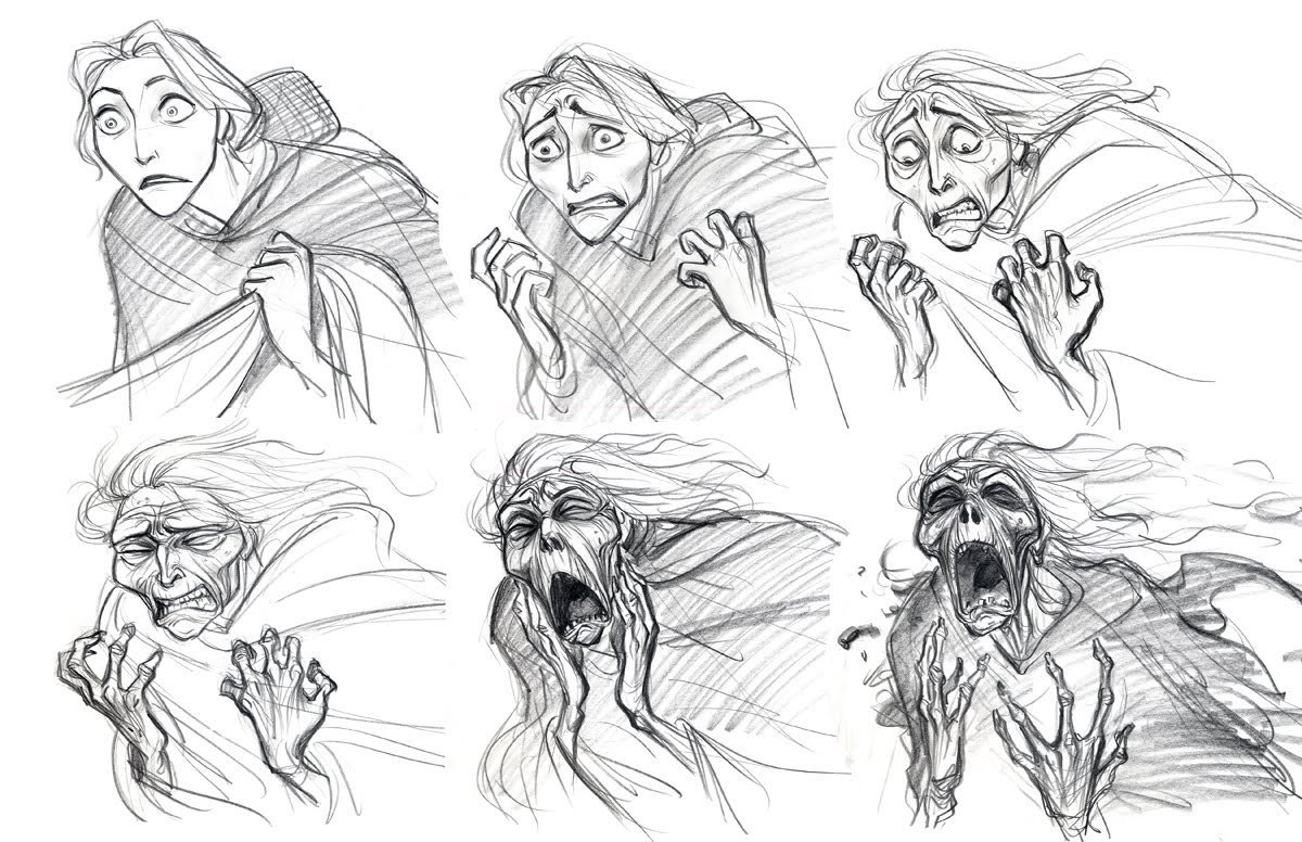 Cartoon Concept Design TANGLED Sketches And Characters Part 1