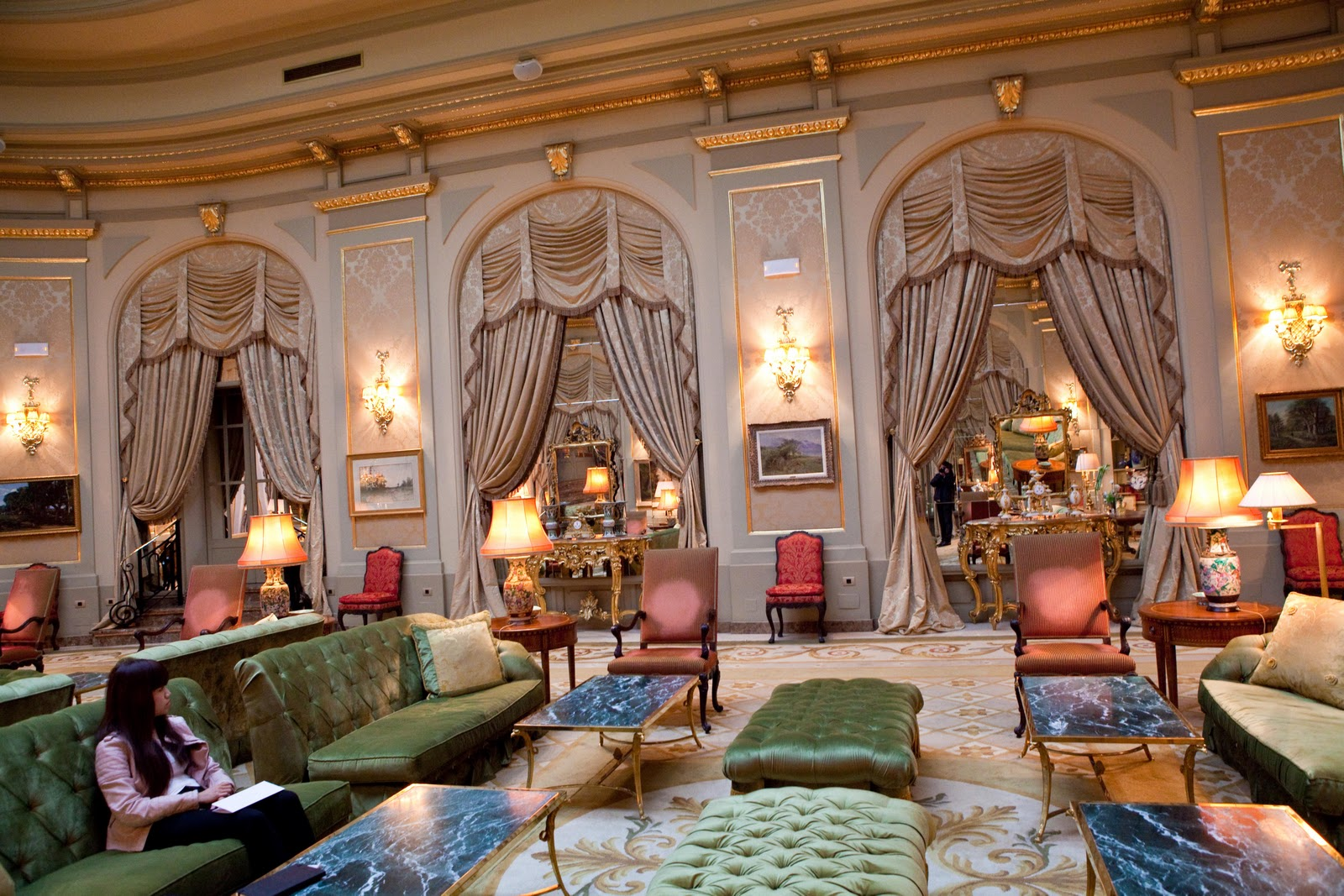 Life of a lil notti monkey el palace hotel barcelona for Hotel jardin barcelona