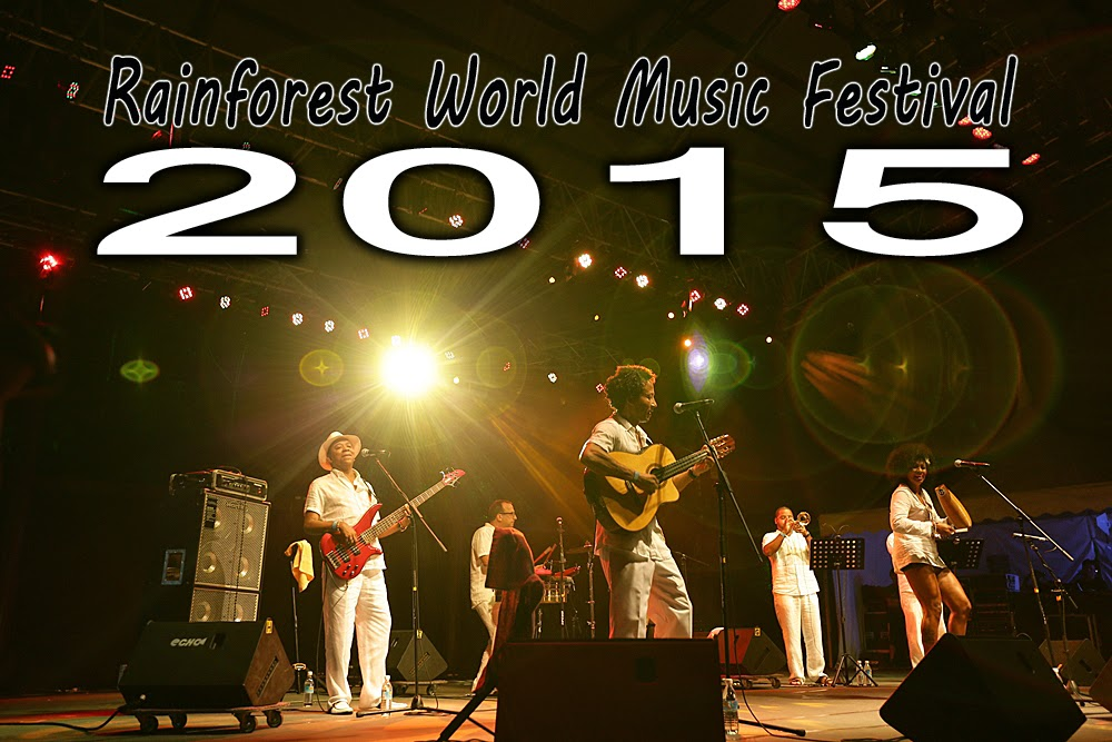 Rainforest World Music Festival 2015 Sarawak