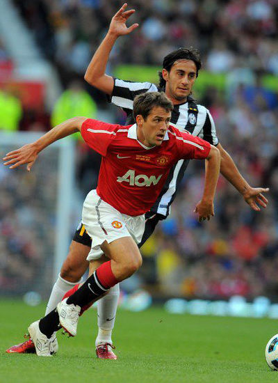 Friendly Match Michael Owen Manchester United vs Juventus