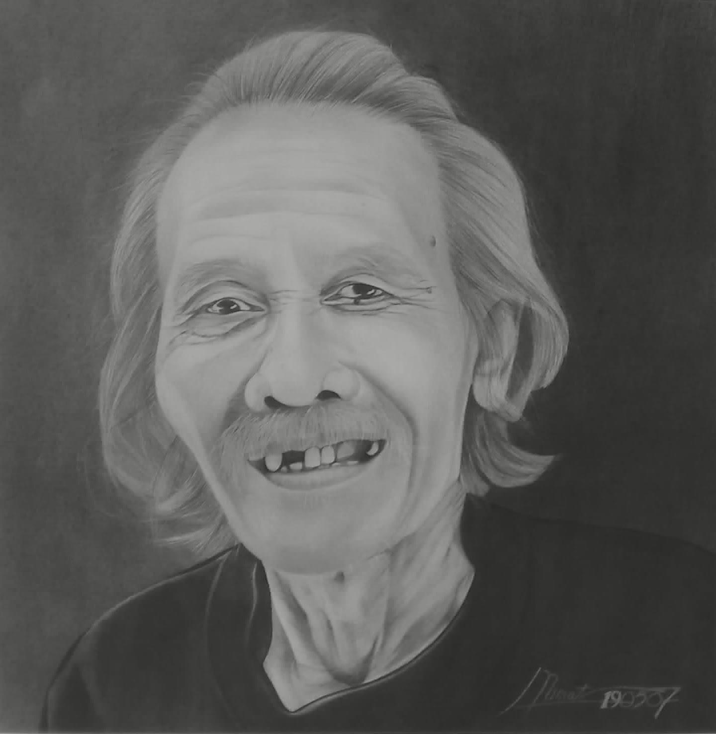 Mamat lukisan potret