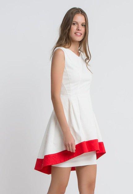 Φορεμα κοκτειλ λευκο.Νew Collection !