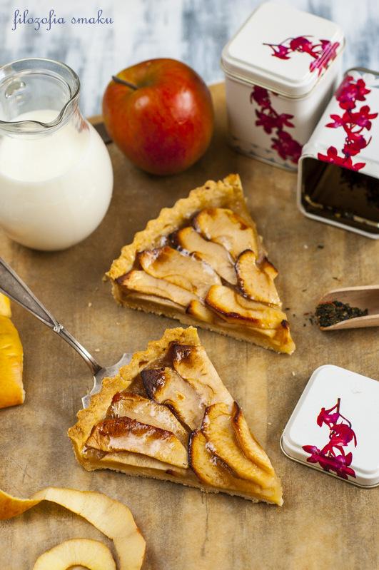 Tarta z jabłkami przepis