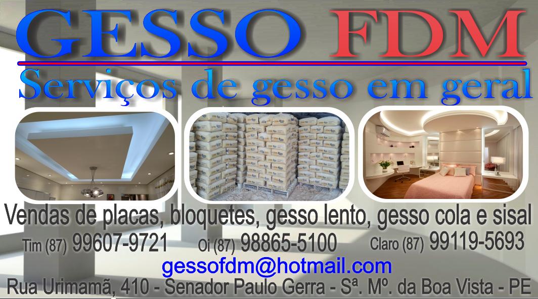 GESSO FDM