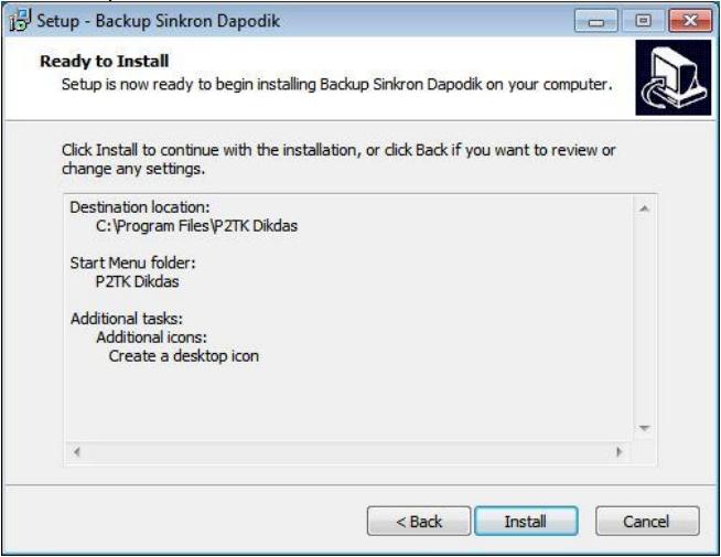 Cara Instalasi BSD 207