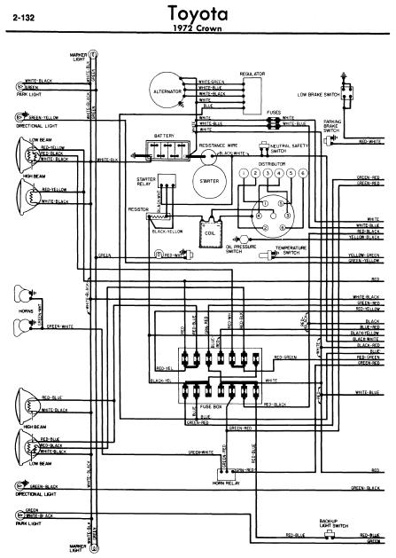 wiring diagram for 1981 toyota pickup