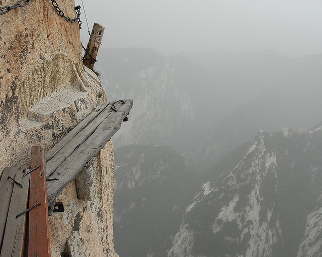 Huashan Cliffside Trail