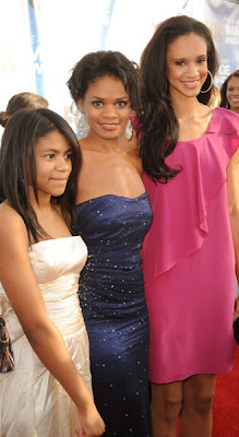 Kimberly Elise Daughter Ajableu Kimberly elise brought her