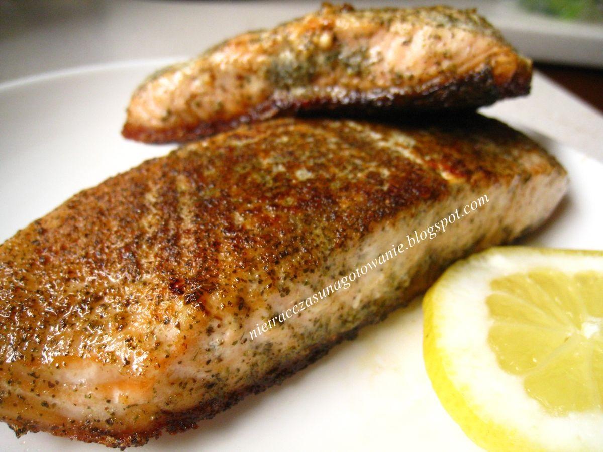 Filet z łososia z cytryną na szybko