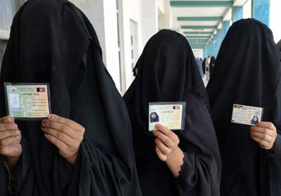 Funny Niqab and Burkha Pictures - Id Card