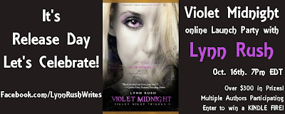 {ARC Review+Kindle Fire G!veaway} Violet Midnight by Lynn Rush