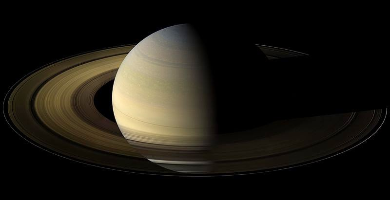 Saturn imaged by the Cassini spacecraft. Credit: NASA/JPL/Space Science Institute