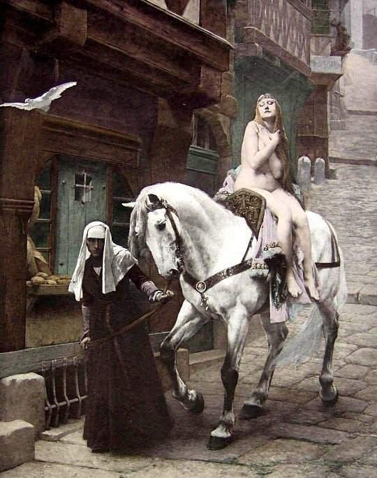 Jules Joseph Lefebvre lady godiva