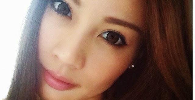 3 Gambar Hannah Tan Yang Terdedah Nampak Lurah Dada