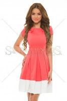 Rochie PrettyGirl Susceptible Coral (PrettyGirl)