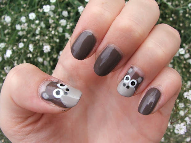 girlsandbeyond notd - monkey nail