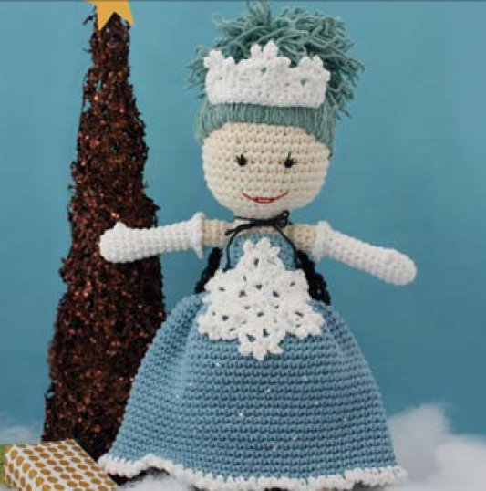 Crochet Pattern Human Doll : 2000 Free Amigurumi Patterns: Winter Princess Lily Doll