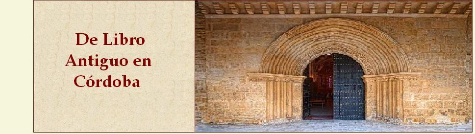 De Libro Antiguo En Córdoba