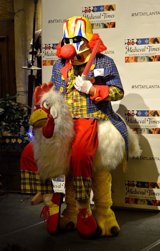 Dragon Con Night at Medieval Times 2015, Vader-Clown-Chicken