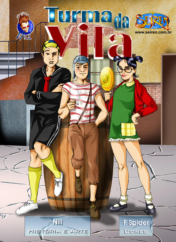 Hentai - Sexo na Vila do Chaves