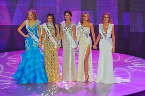 SASHES AND TIARAS.....Miss Venezuela 2011 Evening Gowns: My Top 5 ...
