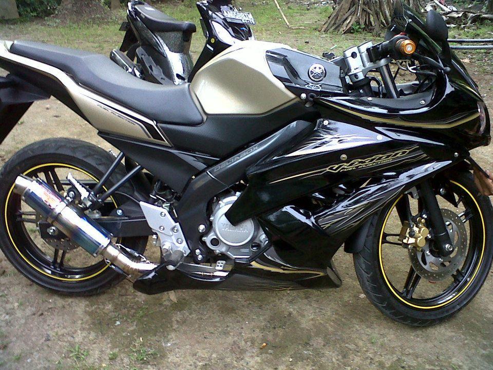 Modif Yamaha Byson Warna Biru