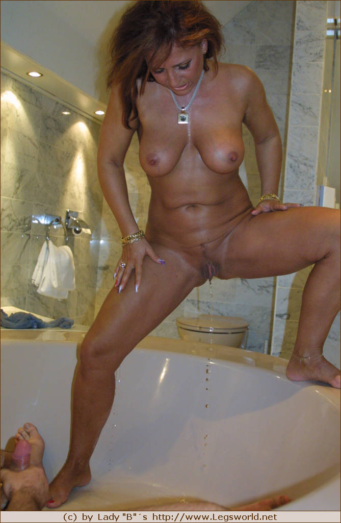 mature golden shower german mils