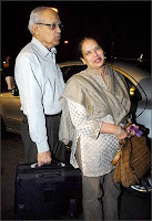 Aishwarya Rai Parents Father Krishnaraj Rai and Mother Vrinda Rai