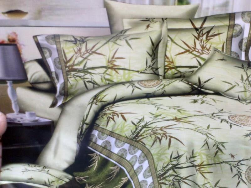 Sprei Cantik Motif Bambu Cina