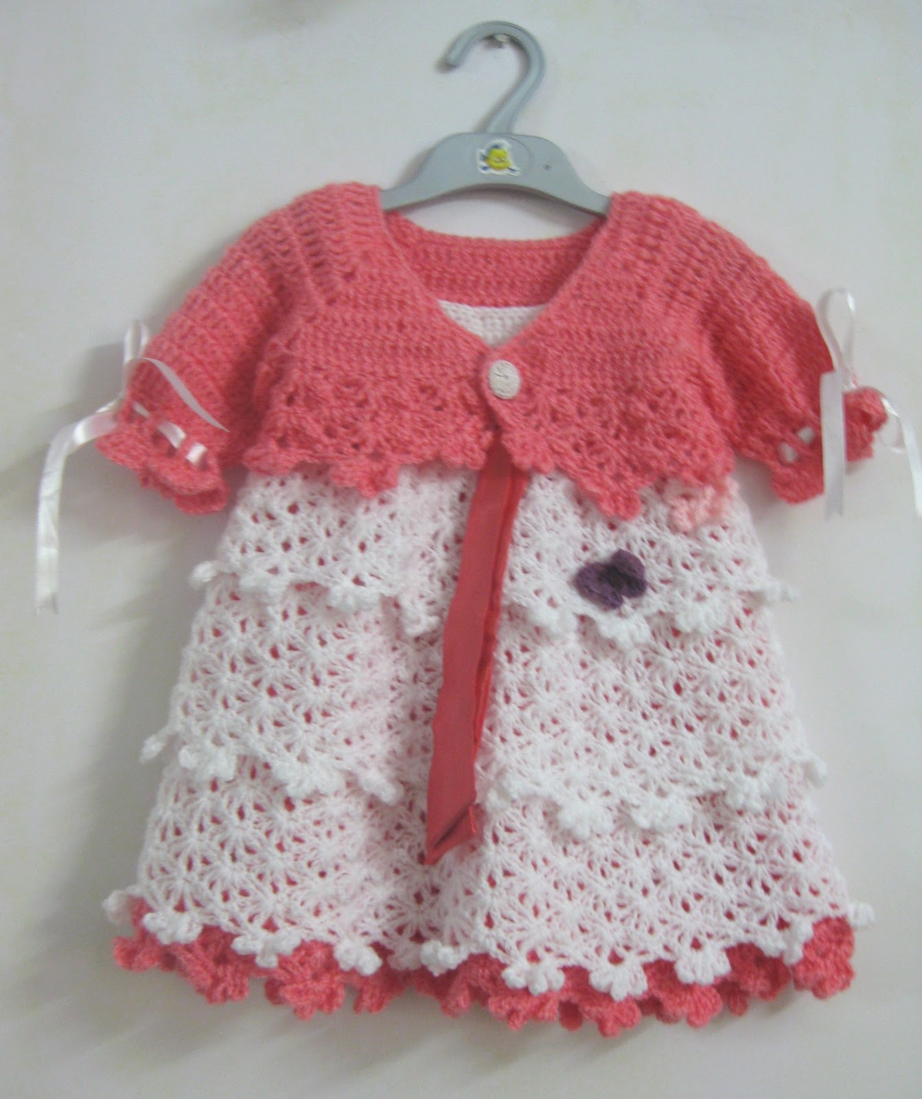 Crochet Baby Winter Dress Pattern : Welcome Winter!: Crocheted Baby Dress (Savannah Belle)
