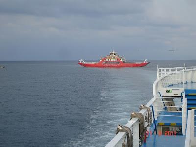 Un ferry-boat, doua... saptamani de vacanta