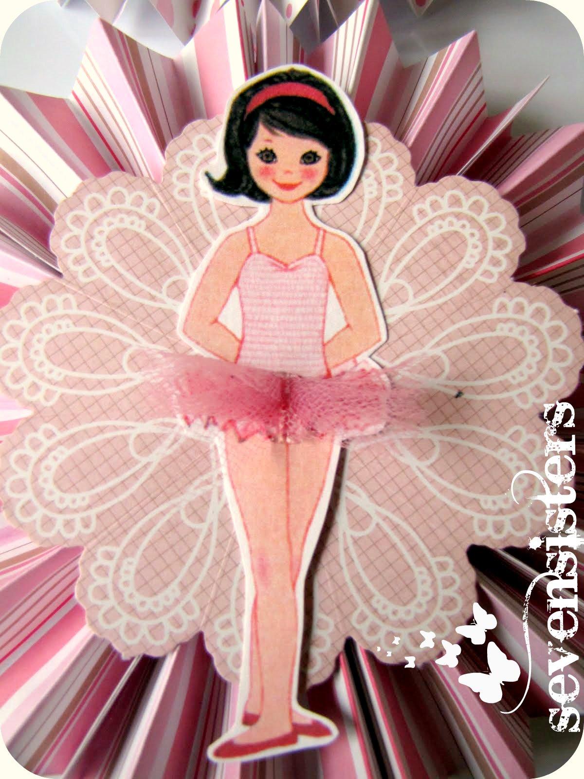 Seven Sisters Ballerina Birthday