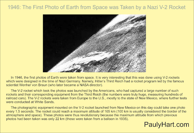 "First Photo of Earth from ""Space"""