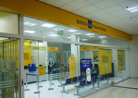 banco financiero oficina