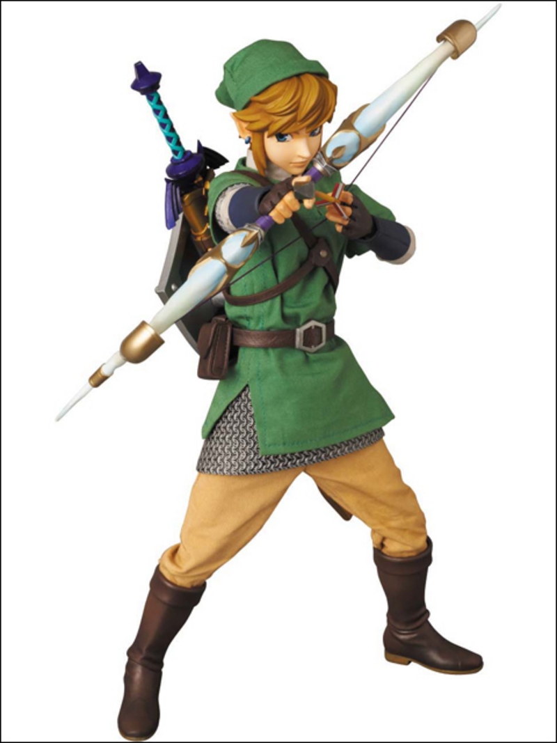Zelda the skyward sword-Link Medicom_RAH_Skyward_Sword_Link_09