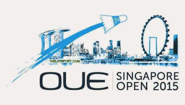 Jadwal Hasil Final Singapura Open Super Series 2015