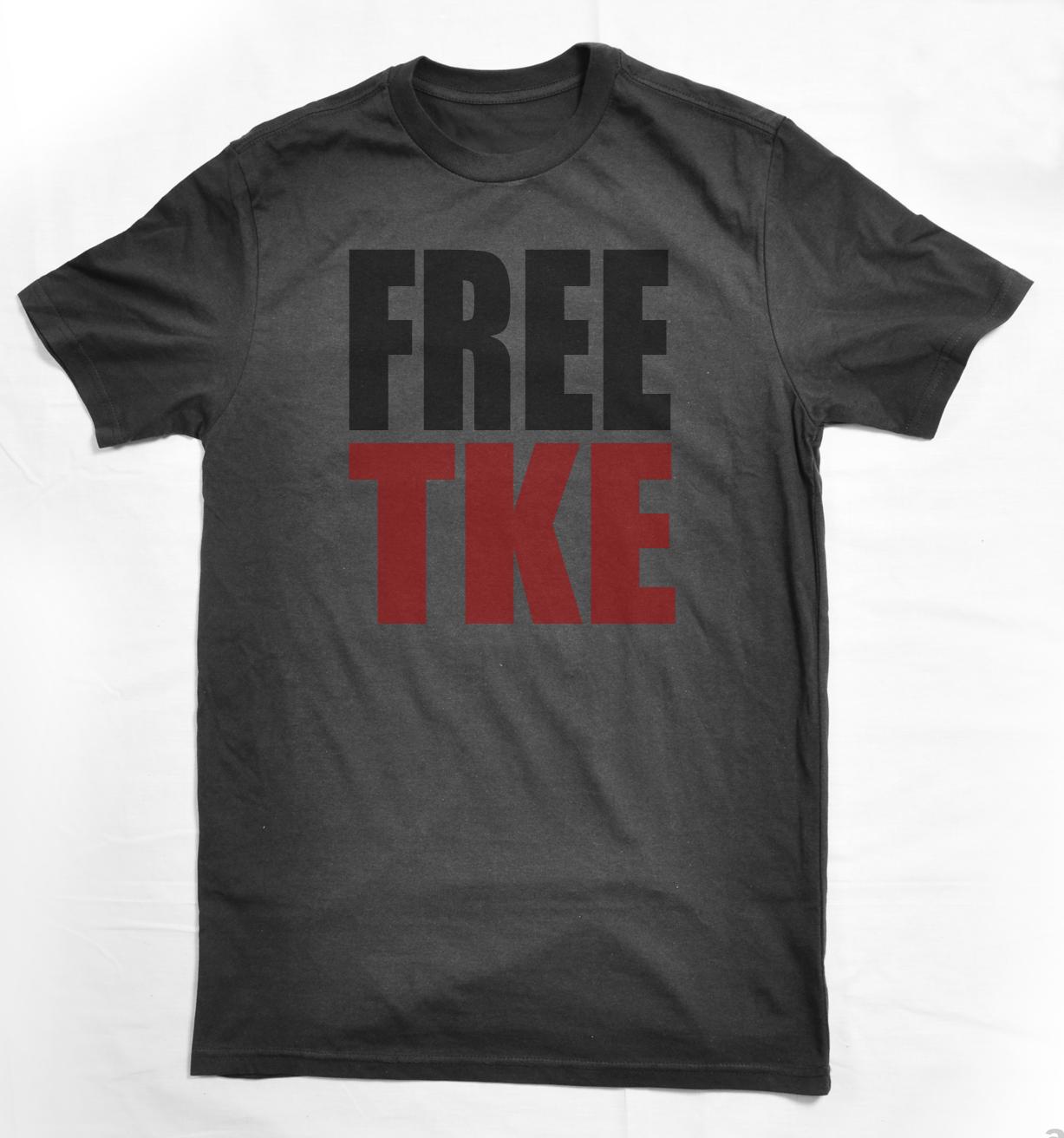 free tke shirts