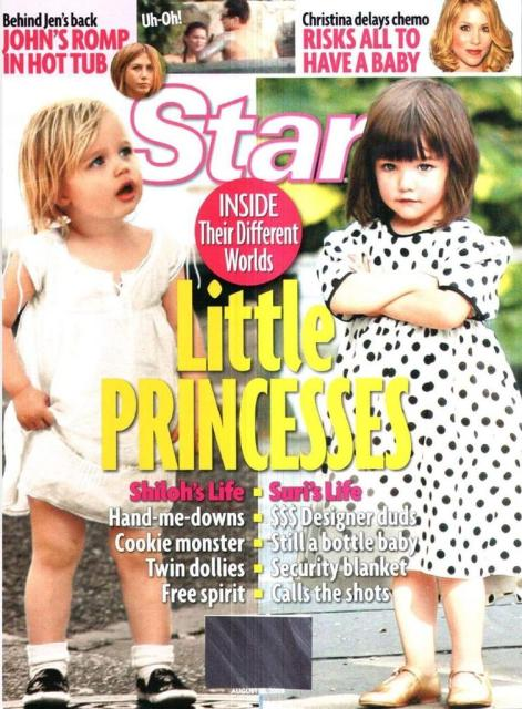 shiloh jolie pitt and suri cruise