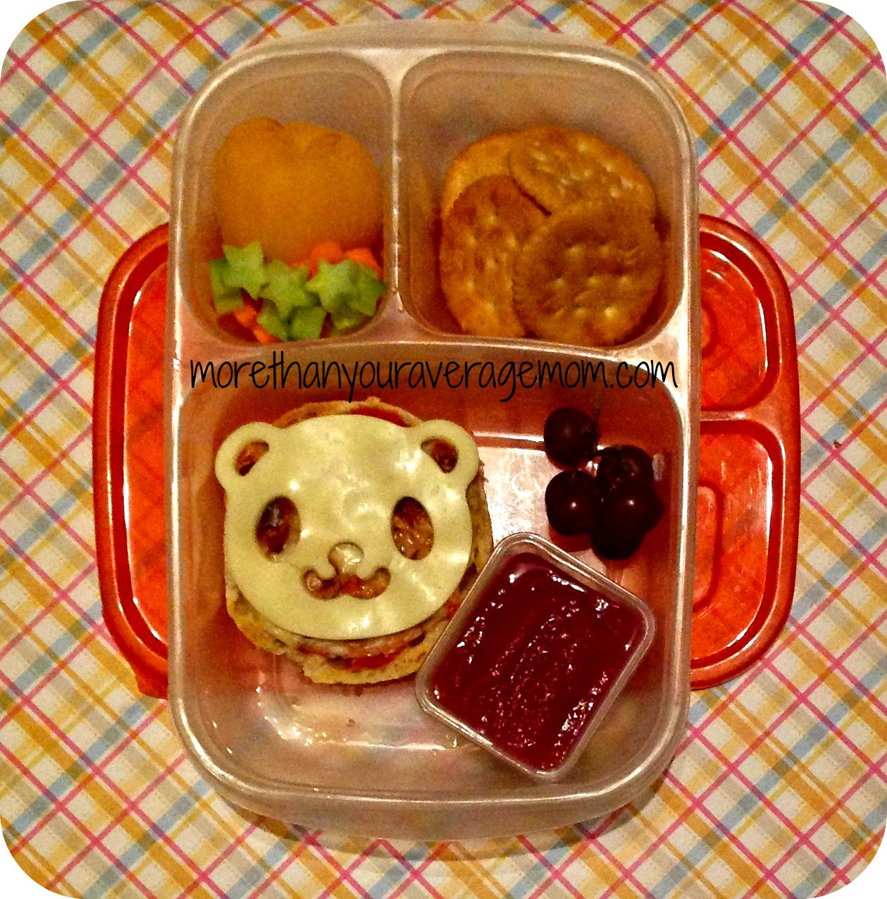 quick and easy panda bento lunch more than your average mom. Black Bedroom Furniture Sets. Home Design Ideas
