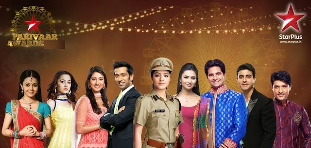 'Star Parivaar Awards' 2015 Category  Nominee  Host  Guest  Program  Timing  15 Years of Star Pariwaar