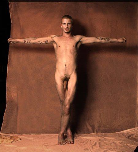 David Beckham Naked Nude Desnudo