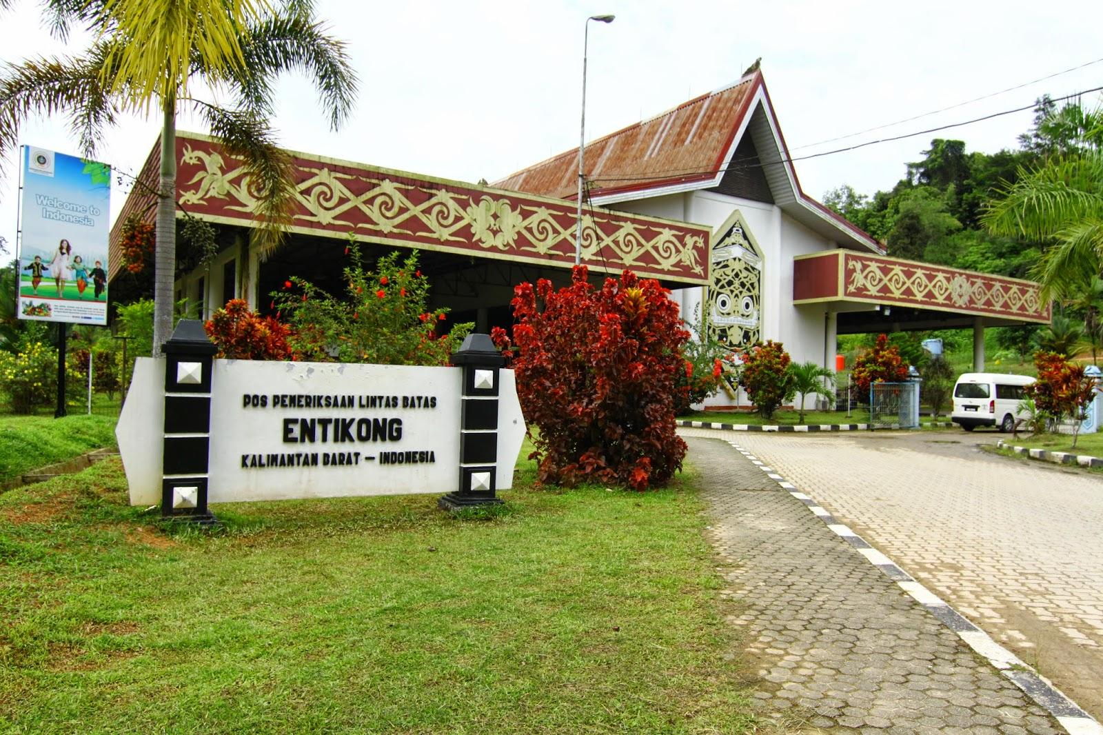 Sempadan pintu masuk ke Indonesia, Entikong