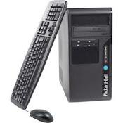 L'unité centrale, le clavier, la souris et le moniteur ou écran