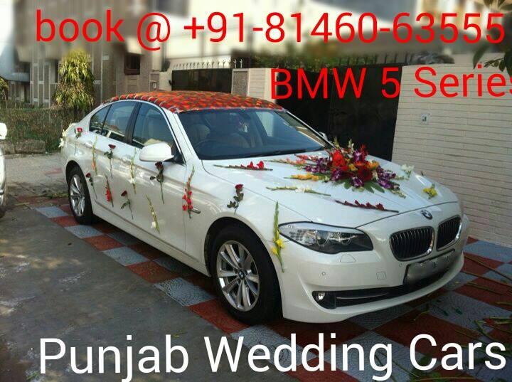 Bmw 530 5 Series Luxury Wedding Cars Punjab Jalandhar India