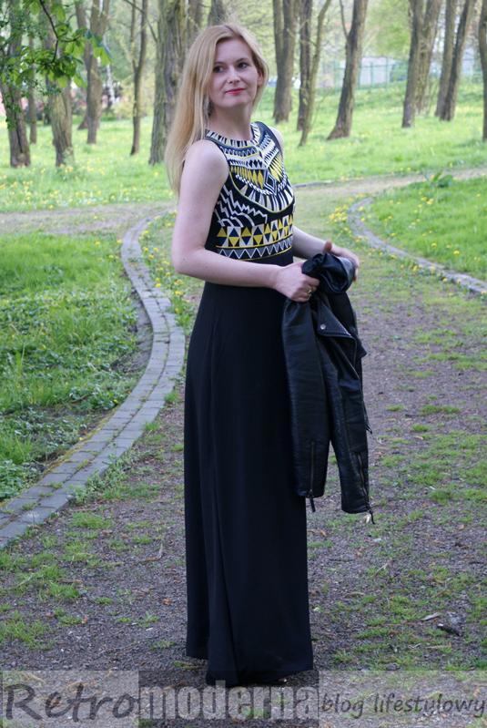 Maxi sukienka na lato
